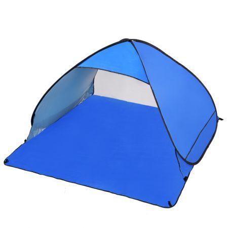 Pop Up Portable Beach Canopy - Blue