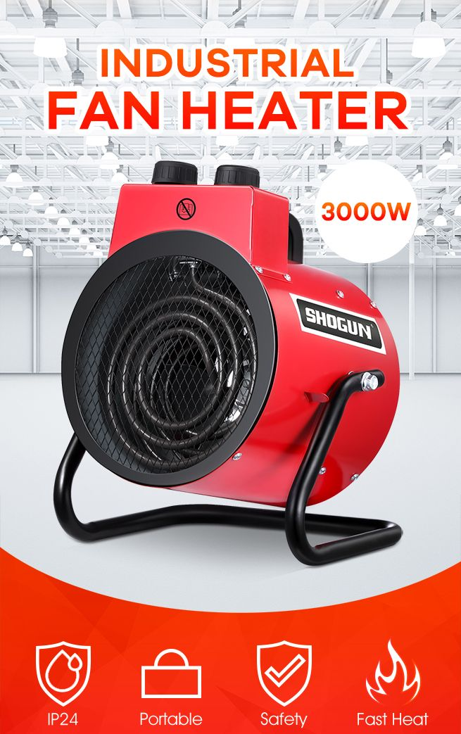 Quick Space Portable Restrooms Toilets Bathrooms Reno: 3000W Electric Fan Heater Portable Space Heater Fast