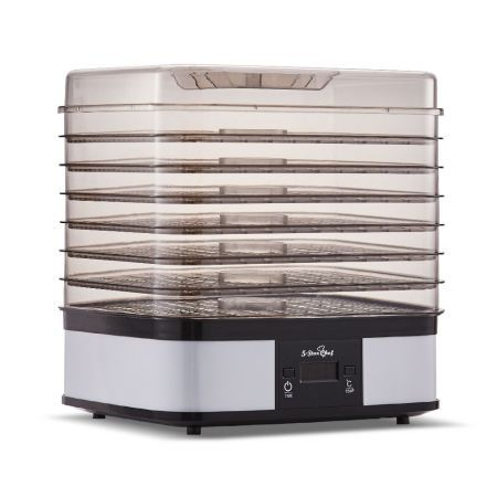 5 Star Chef Food Dehydrator with 7 Trays - White