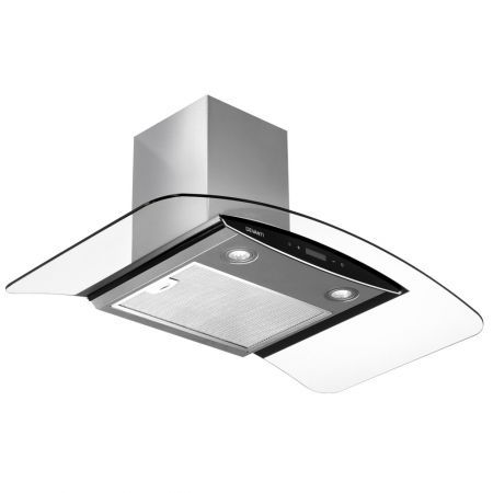 DEVANTi Commercial Rangehood Range Hood Stainless Kitchen Canopy 900mm