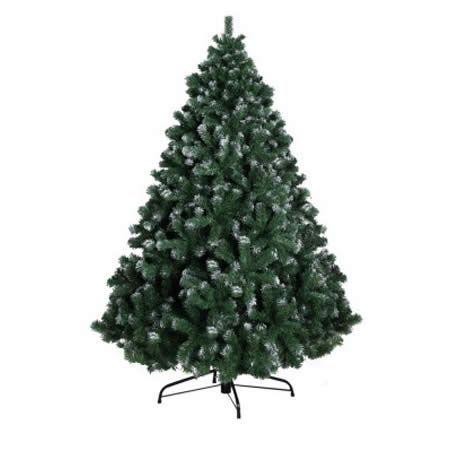 Jingle Jollys 8FT Christmas Snow Tree | Crazy Sales