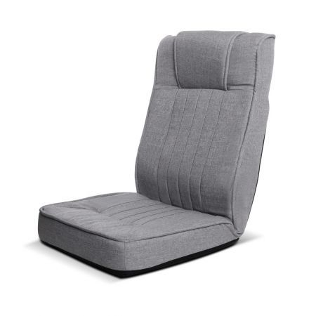 Artiss Lounge Sofa Floor Recliner Couch Futon Folding Chaise Light Grey