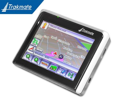 "TRAKMATE GPS Satellite Navigation System with 3.5"" Touch Screen LCD - TM350H"