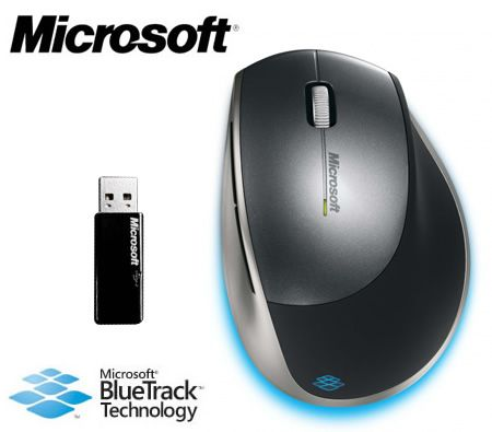 Microsoft Wireless Explorer Mouse with BlueTrack Technology - Rechargeable
