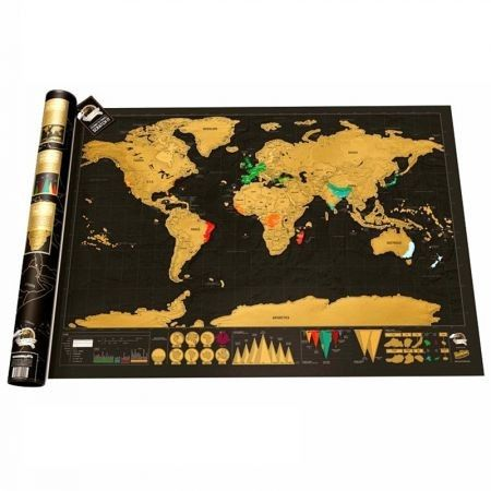 High Quality Travel Map World Edition Travel Life