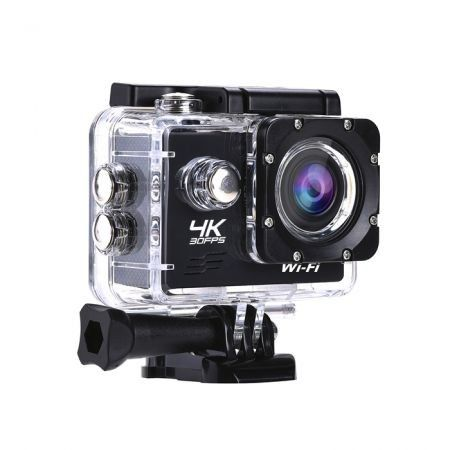 Ultra 4K 30FPS Action Camera Wifi Sporting Camera 2.0 Inch LCD 16 MP Yi Action Camera-Black
