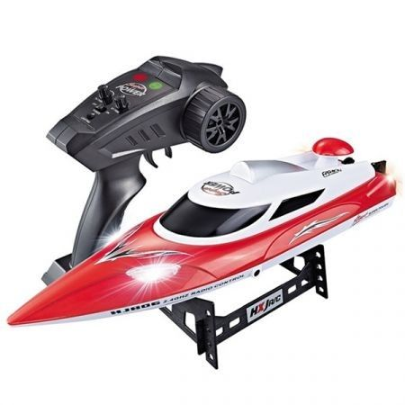 HJ806 2.4G RC Boat 200 Meters Control Distance / Cooling Water System / 35km/h High-speed