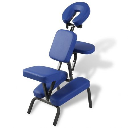 Blue Foldable & Portable Massage Chair