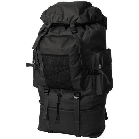 Army-Style Backpack XXL 100 L Black