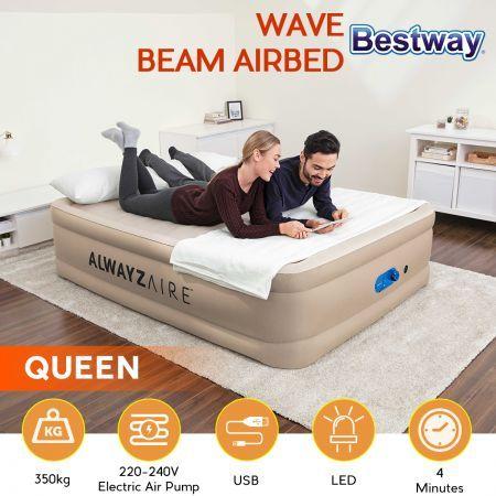 Air Bed Mattress 51cm Queen Size, Air Bed Queen Size Mattress