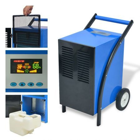 Dehumidifier with Hot Gas Defrosting System 50 L/24 h 860 W