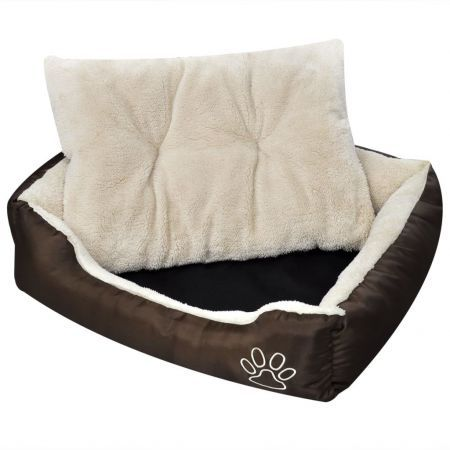 Warm Dog Bed with Padded Cushion XL