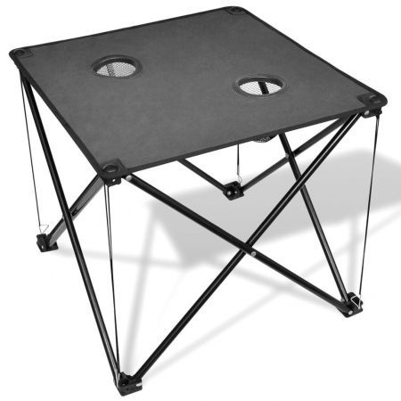 Foldable Camping Table Grey