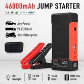 2000AMP 46800mAh Portable Jump Starter Car Battery Charger 12V