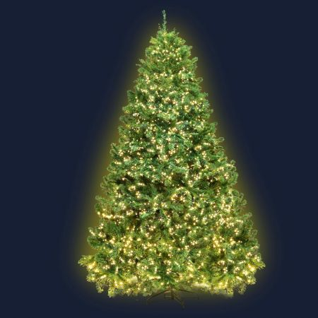 Jingle Jollys 1.8M 6FT Christmas Tree Xmas 1980 LED Lights Warm White 765 Tips | Crazy Sales