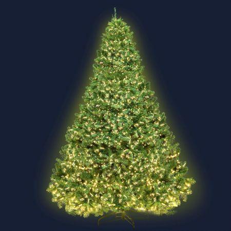 Jingle Jollys 2.4M 8FT Christmas Tree Xmas 3190 LED Lights Warm White 1436 Tips | Crazy Sales