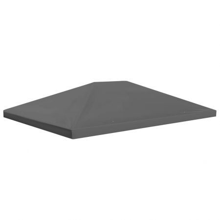Gazebo Top Cover 310 g/m² 4x3 m Grey