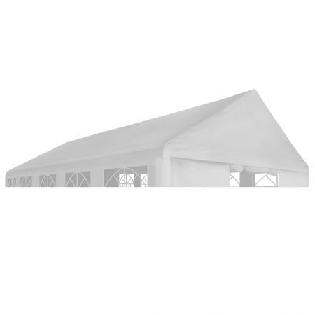 Party Tent Roof 4 x 6 m White