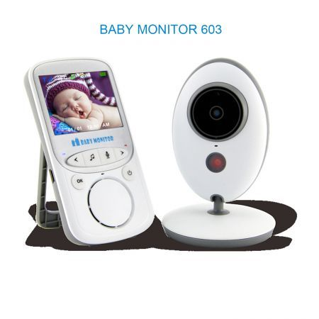 Wireless LCD Audio Video Baby Monitor VB605 Radio Nanny Music Intercom IR 24h Portable Baby Camera Baby Walkie Talkie Babysitter