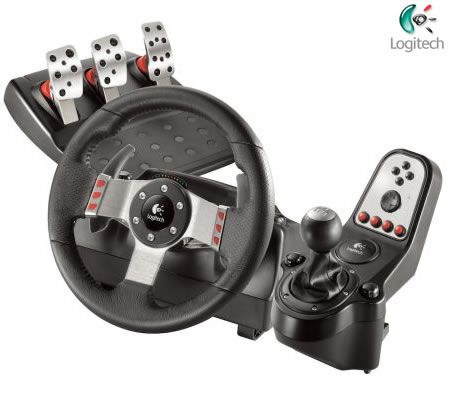 Logitech G27 Racing Gaming Wheel for PC and Sony Playstation 2 / PS3
