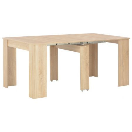 Extendable Dining Table Sonoma Oak 175x90x75 cm