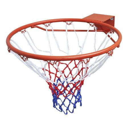 Basketball Goal Hoop Set Rim with Net Orange