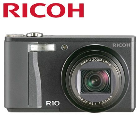 Ricoh RICOH-R10 10MP Professional Digital Camera with 7.1x Optical Zoom & Smooth Imaging Engine III