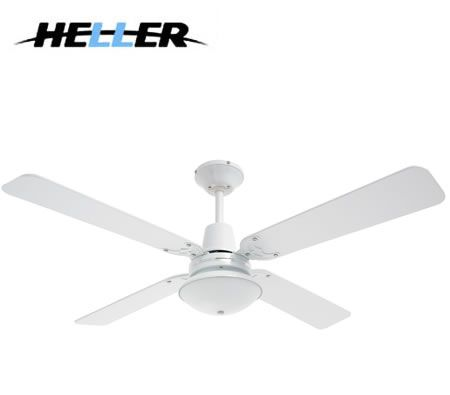 Heller maxwell 1200mm reversible 4 blade ceiling fan with oyster heller maxwell 1200mm reversible 4 blade ceiling fan with oyster light white or cherrywood audiocablefo