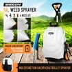 16L Wheel Backpack Pump Sprayer for Garden Weed Killer Fertilizer with Car Wash Brush
