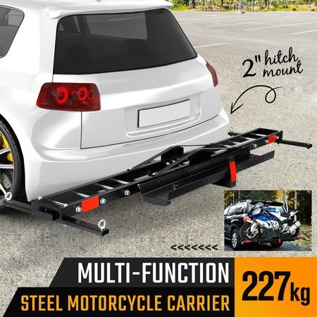 Rear Mounted Motorcycle Bike Carrier Rack for Car