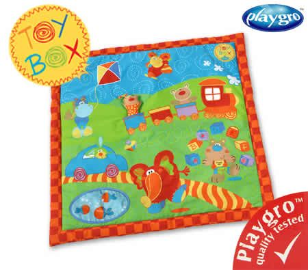Playgro Padded Activity Playmat with Music and Lights