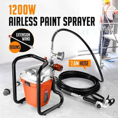 1200W Airless Paint Sprayer Gun Spray Paint Machine 2.2L/Min
