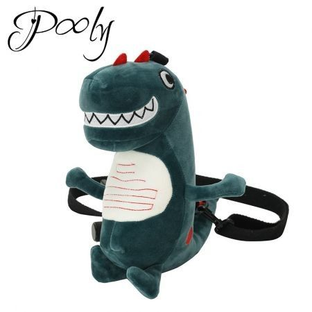 Poly Novelty Cute Plush Dinoaur Cross body Bag