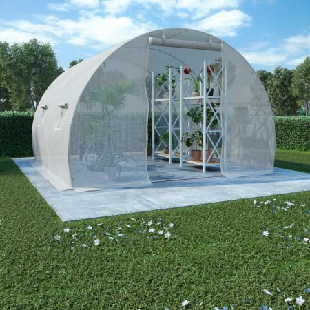 Greenhouse with Steel Foundation 9m? 300x300x200 cm