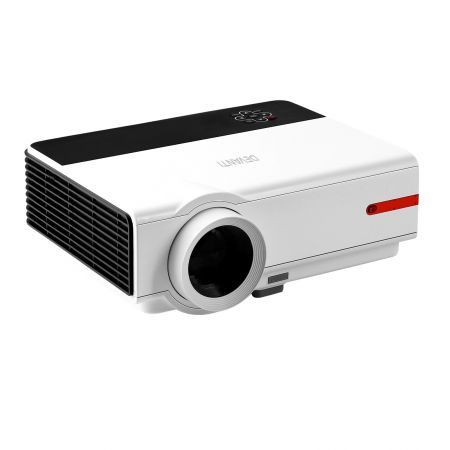 Devanti Mini Video Projector Portable WiFi Bluetooth HD 1080P 3200 Lumens Home Theater