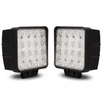 Led lights led light bars cheap led light bars australia online pair 48w 12 24v led work light spot beam offroad 4wd ute 4x4 aloadofball Image collections