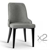 dining chair pads australia. set of 2 fabric dining chairs - grey chair pads australia i