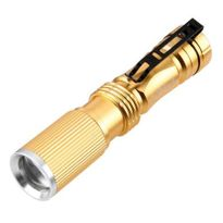 Convoy S3 Mini Waterproof LED Flashlight 1100Lm Outdoor Torch for Camping Black