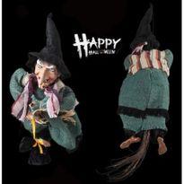 halloween splatterhouse masquerade party bar decoration flying witch