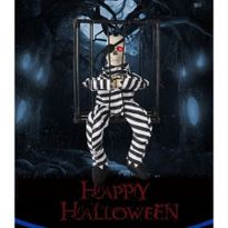 halloween splatterhouse masquerade party bar decoration shining screaming prisoner