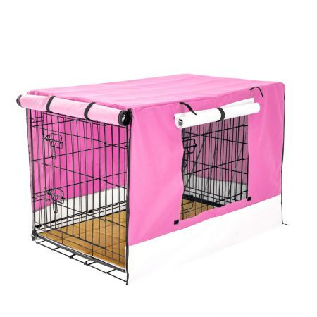 "42"" Cage + Cover PK + Pad - Pink"