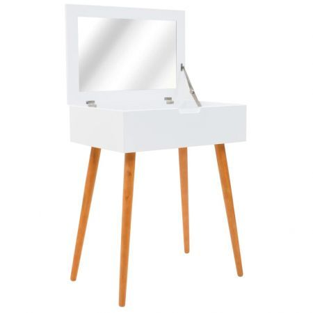 Dressing Table with Mirror MDF 60x40x75 cm