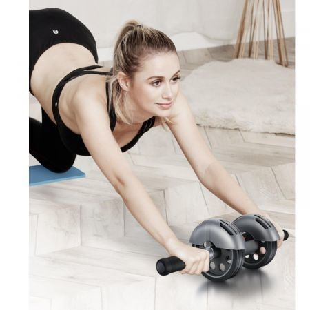 Home Fitness 2020 Upgraded Abdominal Roller Wheel get 1 Free knee mat
