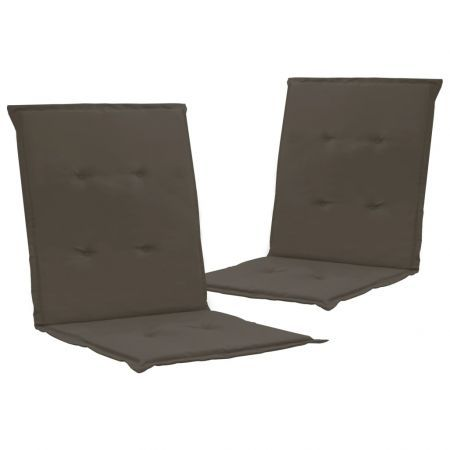 Garden Chair Cushions 2 pcs Anthracite 100x50x3 cm