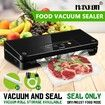 Maxkon Food Vacuum Sealer Packing Machine Dry Wet Food Storage with Free Bags