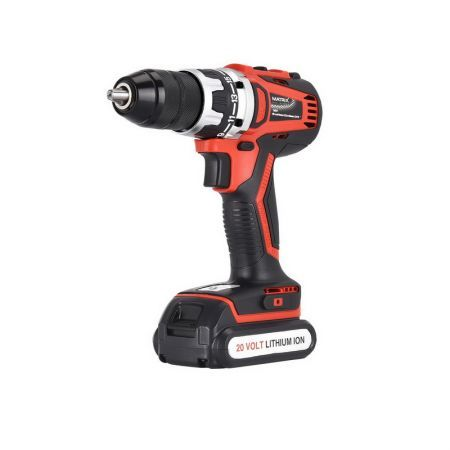 Matrix Power Tools 20V Cordless Brushless Drill Driver Skin Only NO Battery Charger