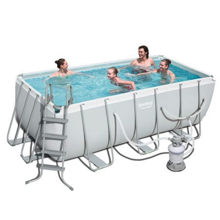 Bestway Power Steel Rectangular Frame Pool