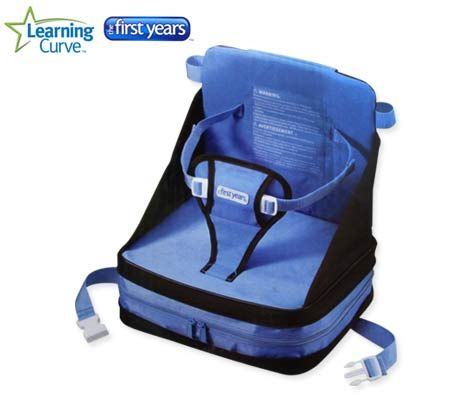 Pet Booster Seat >> Learning Curve The First Years On-The-Go Portable Baby Booster Seat | Crazy Sales