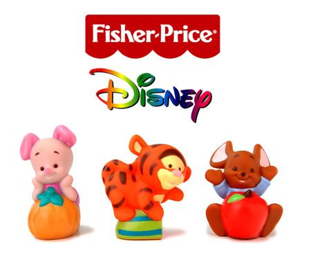 Fisher-Price Disney Pooh Babies Soft Pals Toy