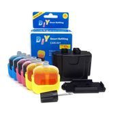 DIY Ink Refill Kit for Canon CL41 / CL51 Printer Cartridge - 2 Refills For Canon Printers